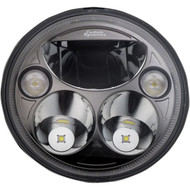 "Custom Dynamics 7"" TruBeam LED Headlight Black Chrome (CDTB-7-IF-B)"