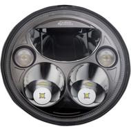 "Custom Dynamics 7"" TruBeam LED Headlight Black Chrome (CDTB-7-I-B)"