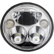 "Custom Dynamics 7"" TruBeam LED Headlight Chrome (CDTB-7-I-C)"