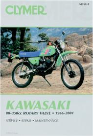 Clymer Repair/Service Manual '66-01 Kawasaki 80-350cc Rotary Valve (M350-9)