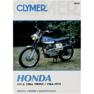 Clymer Repair/Service Manual '64-74 Honda 250-350cc Twins (M322)