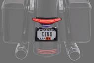 Ciro Latitude Taillight w/License Plate Holder Black (40052)