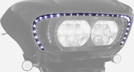 Ciro Road Blade LED Lighted Front Fairing Accent (45103)