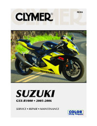 Clymer Repair/Service Manual '05-06 Suzuki GSX-R1000 (M266)