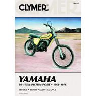 Clymer Repair/Service Manual '68-76 Yamaha 80-175cc Piston-Port Engines (M410)