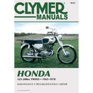 Clymer Repair/Service Manual '65-74 Honda CB/CL/SL/SS 125-200cc (M321)