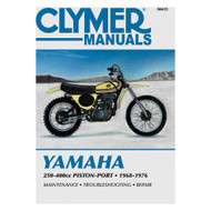 Clymer Repair/Service Manual '68-76 Yamaha Piston-Port Engines 250-400cc (M415)