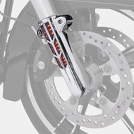 Ciro Lower Fork Leg Covers Chrome w/LEDs (43001)