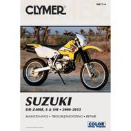Clymer Repair/Service Manual '00-12 Suzuki DR-Z400E, S & SM (M477-4)