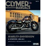 Clymer Repair/Service Manual '04-13 Harley-Davidson XL Sportster (M427-4)