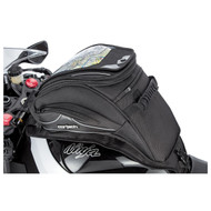 Cortech Super 2.0 18-Liter Sloped Strap Tank Bag Black (8230-0805-18)