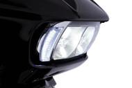 Ciro Fang Headlight Bezel Chrome (45200)