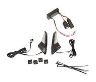 Ciro Snakeyes Light Kit for Tour Pack Black w/Controller (40017)