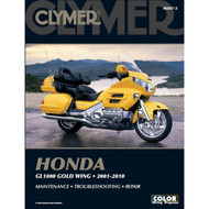 Clymer Repair/Service Manual '01-10 Honda GL1800 Goldwing (M507-3)