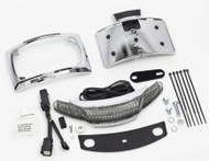 Ciro Latitude Taillight w/License Plate Holder Chrome (40051)