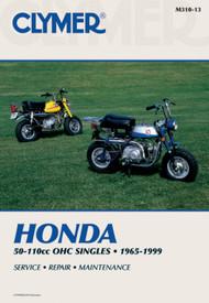 Clymer Repair/Service Manual '65-99 Honda 50-110cc OHC Singles (M310-13)