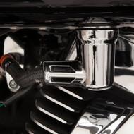 Ciro Fuel Line Fitting Cover Chrome (73025)