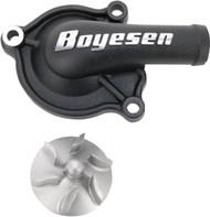 Boyesen Supercooler Water Pump Cover & Impeller Kit Black (WPK-06AB)