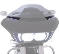 Ciro Horizon LED Windshield Trim Black (11051)