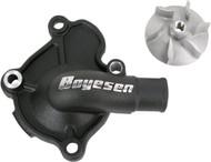 Boyesen Supercooler Water Pump Cover & Impeller Kit Black (WPK-07AB)