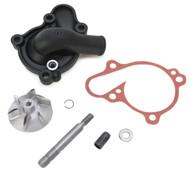 Boyesen Supercooler Water Pump Cover & Impeller Kit Black (WPK-31AB)