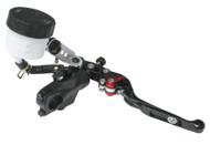 Braking Front Brake Master Cylinder 19mm Piston Black w/Black Lever (MC9603)