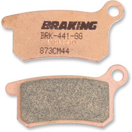 Braking CM-44 Sintered Metal Brake Pads (873CM44)