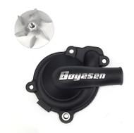 Boyesen Supercooler Water Pump Cover & Impeller Kit Black (WPK-80B)
