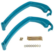 CA Pro Replacement Ski Handles Teal (77020418)