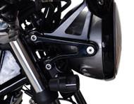 British Customs Headlight Ears Black (BC504-022-B)