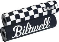 Biltwell Reversible Bar Pad Black/White (6901-650)