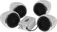 Boss 1000 Watt Bluetooth Stereo All Terrain Sound System Chrome (MC470B)
