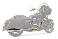 Bassani Road Rage III 2-Into-1 System Long-Megaphone/Stainless (1F21SS)