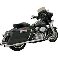 Bassani True Dual Header Pipes Chrome (11215A)