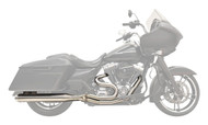 Bassani Road Rage III 2-Into-1 System Long-Straight Can/Stainless (1F18SS)
