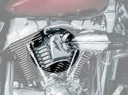 Kuryakyn Throttle Servo Cover Black/H-D Filter (7244)