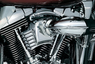 Kuryakyn Throttle Servo Cover Chrome/Aftermarket Filter (8659)