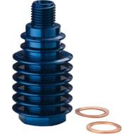 Moose Racing Rear Brake Caliper Cooler Blue Husquvarna/KTM/Euro (1701-0598)