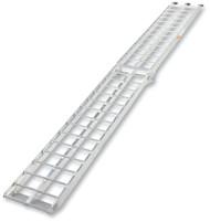 Moose Racing Aluminum 9-Foot Straight Folding Ramp Silver (3910-0034)