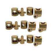 """Motion Pro 3/8"""" Barrel & Nipple Fittings for 2mm Cable 10pk (01-0002)"""