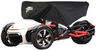 Nelson-Rigg CAS-375-S Can-Am Spyder Half Cover Black (CAS-375-S)