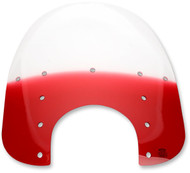 "Memphis Shades 17"" Fats Replacement Plastic w/9""cutout Ruby Gradient (MEP3622)"