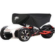 Nelson-Rigg CAS-365-S Can-Am Spyder Half Cover Black (CAS-365-S)