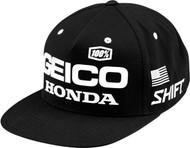 100% Geico Podium Snapback Hat