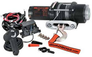 QuadBoss Winch 3500LB W/Synthetic Cable (RP35WS)