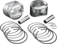"""Wiseco 1200cc Sportster EVO Forged Piston Kit 3.498"""" Bore 10:1/Domed (K1682)"""
