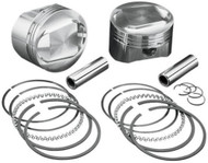 """Wiseco 1200cc Buell Forged Piston Kit +.020"""" 3.518"""" Bore (K1702)"""