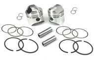 """Wiseco 1000cc Sportster Forged Piston Kit +.020"""" 3.208"""" Bore (K1602)"""