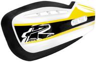 Renthal Moto Handguard Sticker Kit Yellow (HG-100-GK-YE)