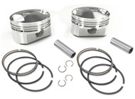 """Wiseco 1200cc Sportster EVO Forged Piston Kit 3.498"""" Bore 10.5:1/Domed (K1685)"""